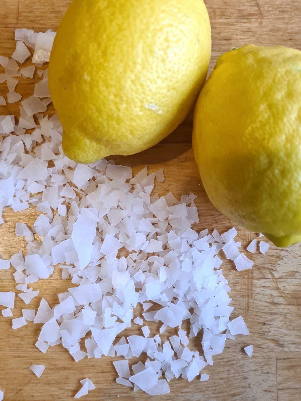 Magnesium mit Zitrone
